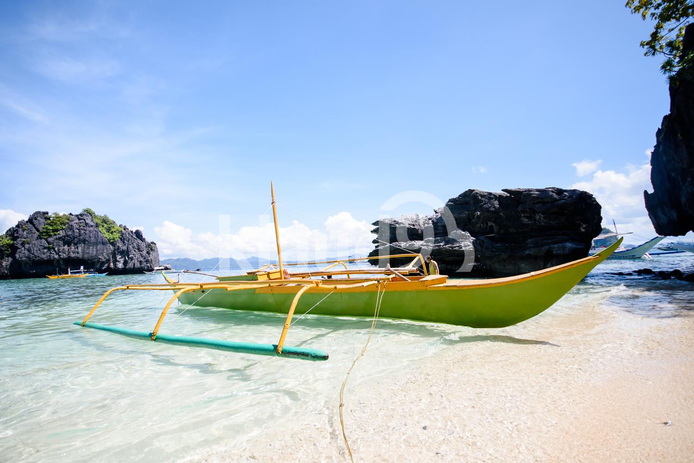 Boat in El Nido, Palawan, Philippines