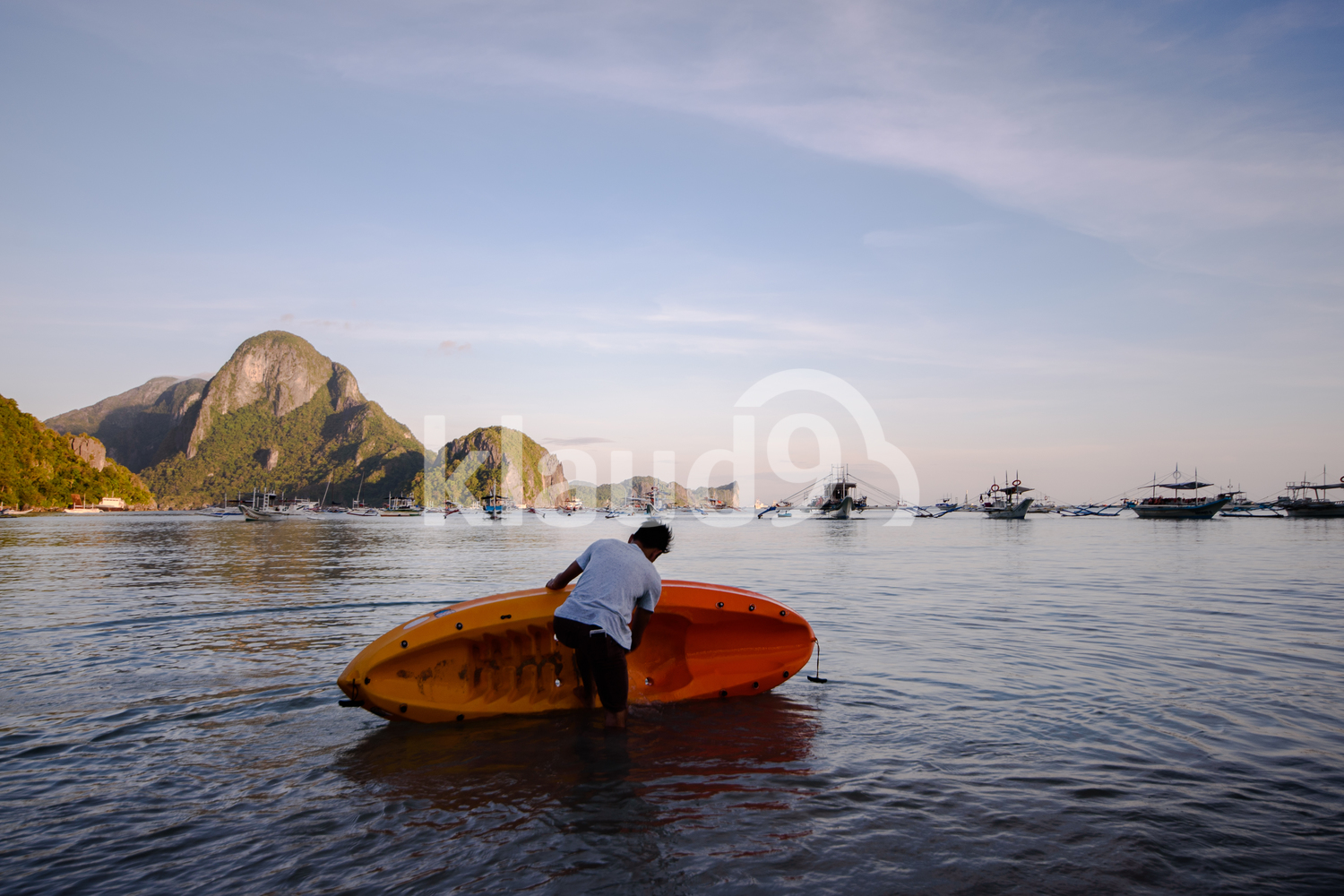 El Nido, Palawan, Philippines on early morning light