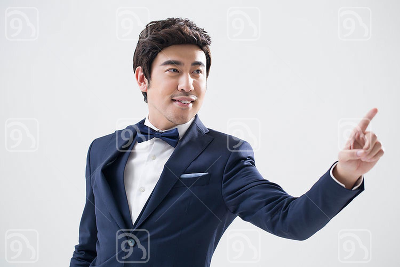 Elegant young Chinese man