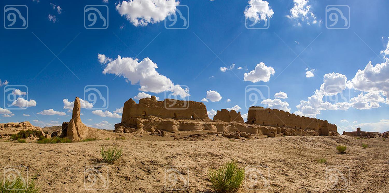 Old ruin in Gansu province, China