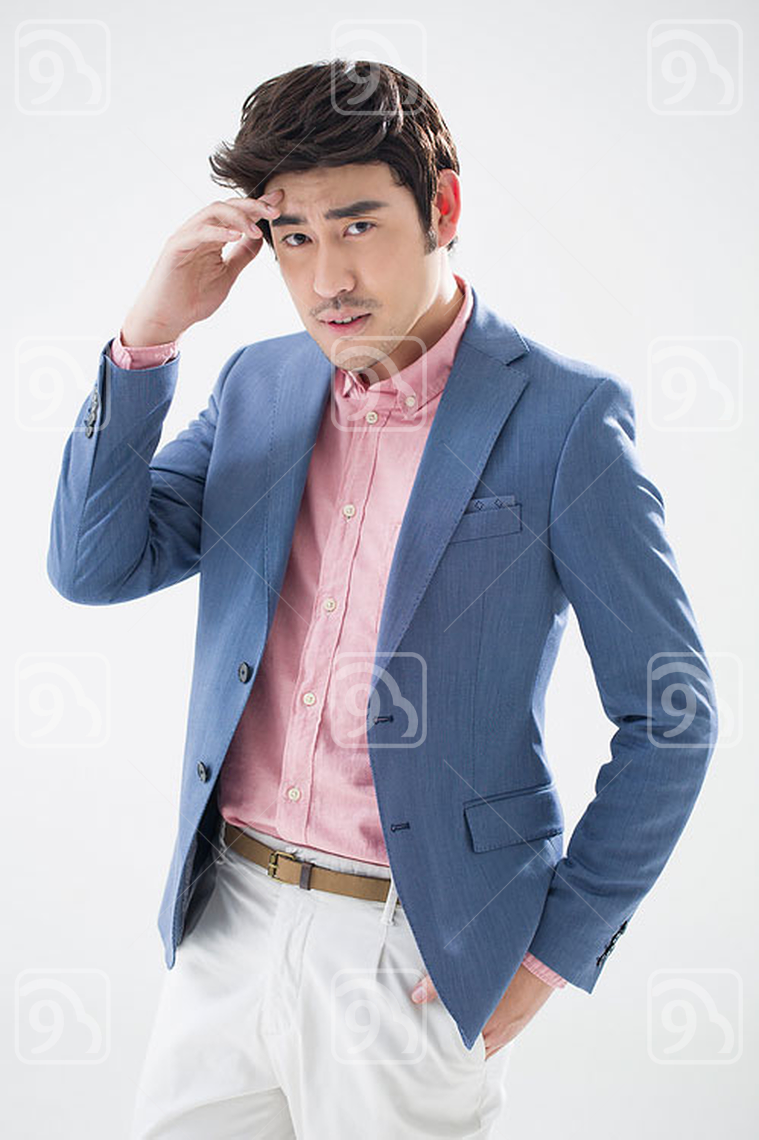 Fashionable young Chinese man