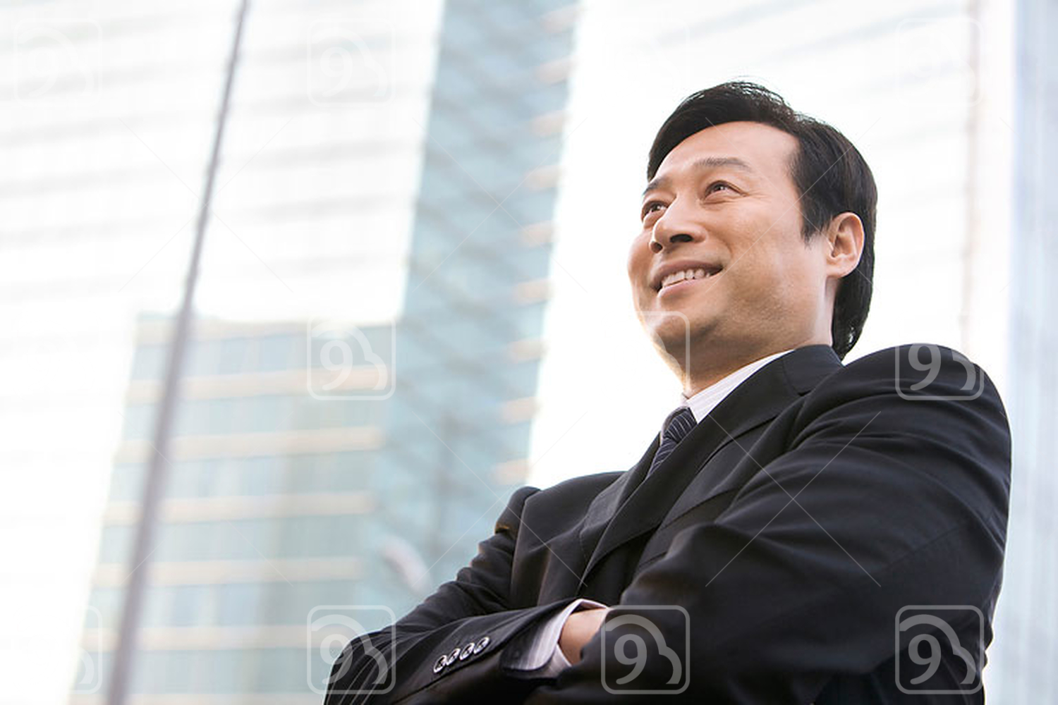 Chinese business Leader Looking into the Future