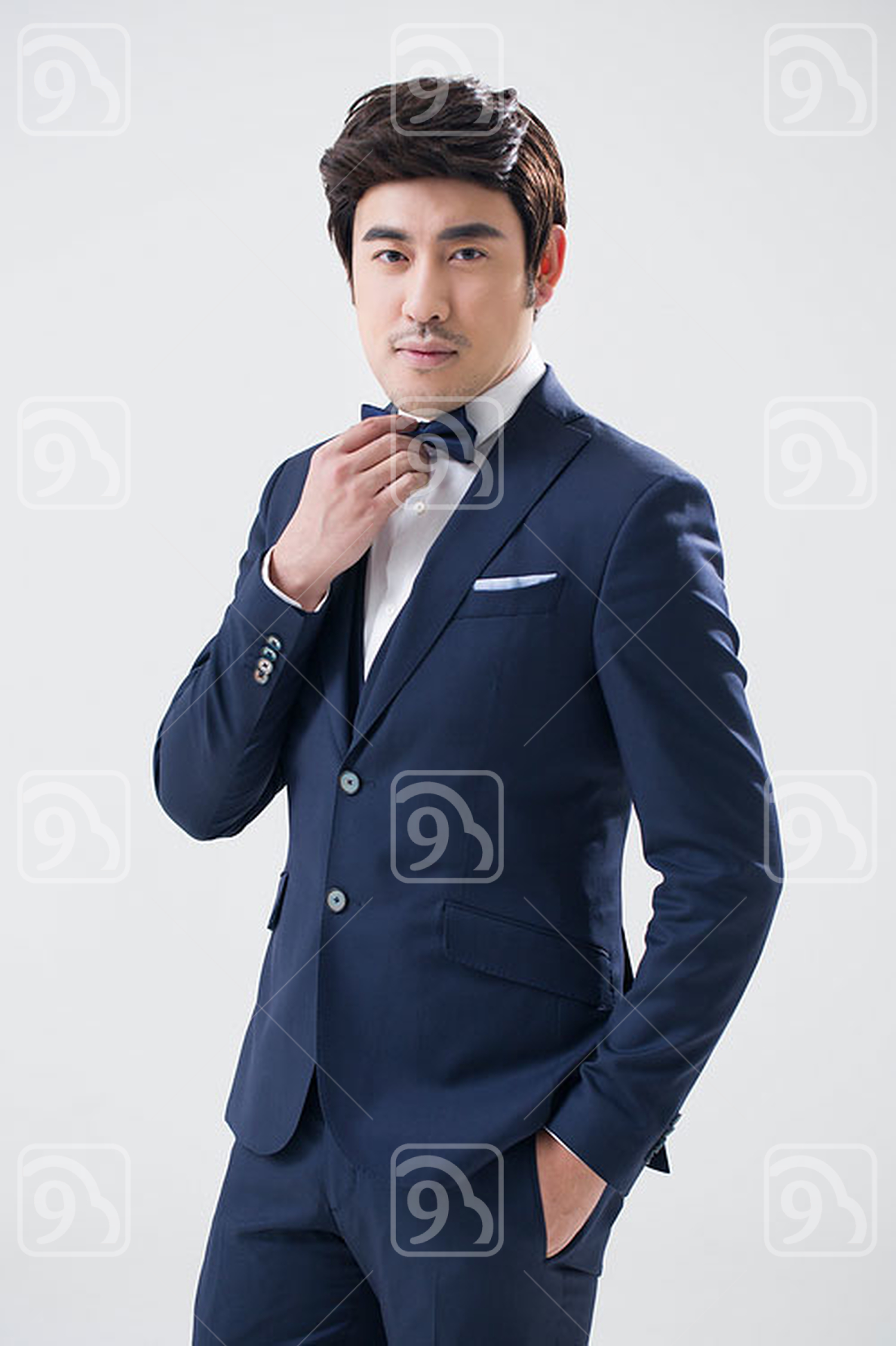 Portrait of young Chinese man