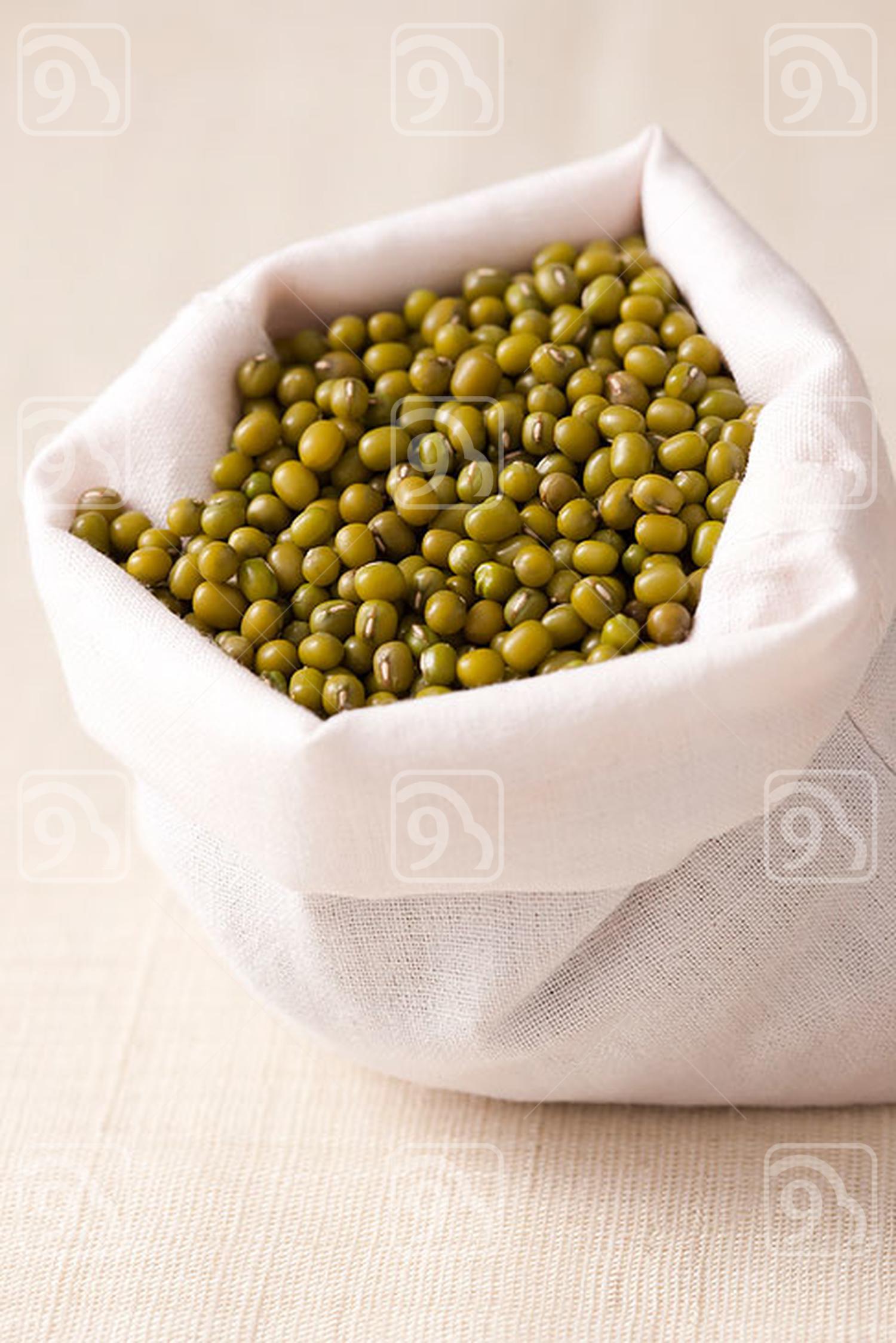 Close-up of green bean