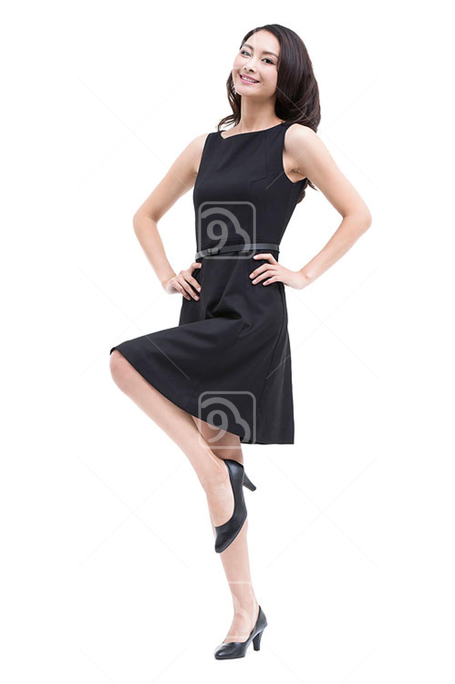 Young beautiful Chinese businesswoman