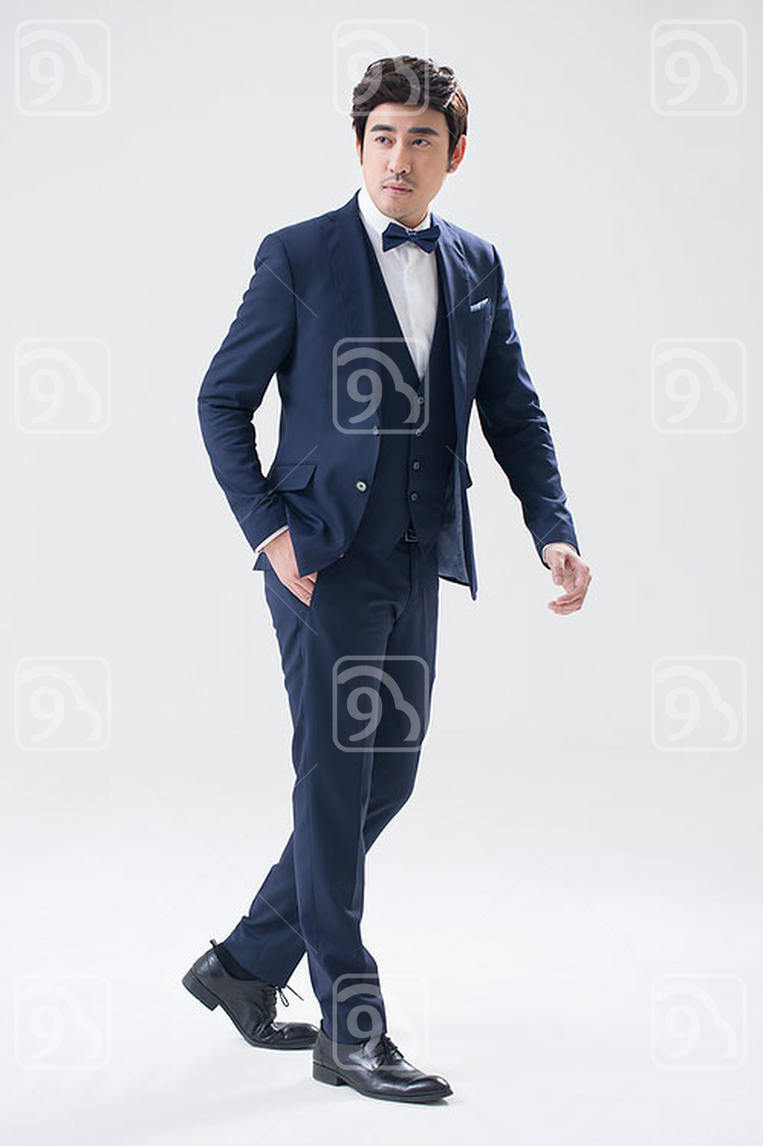 Elegant young Chinese man