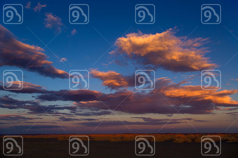 Sunset clouds