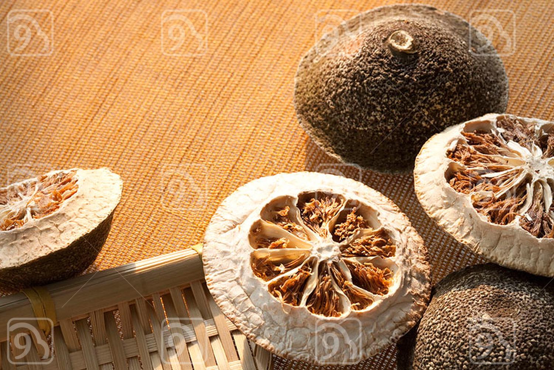 Close-up of dried orange