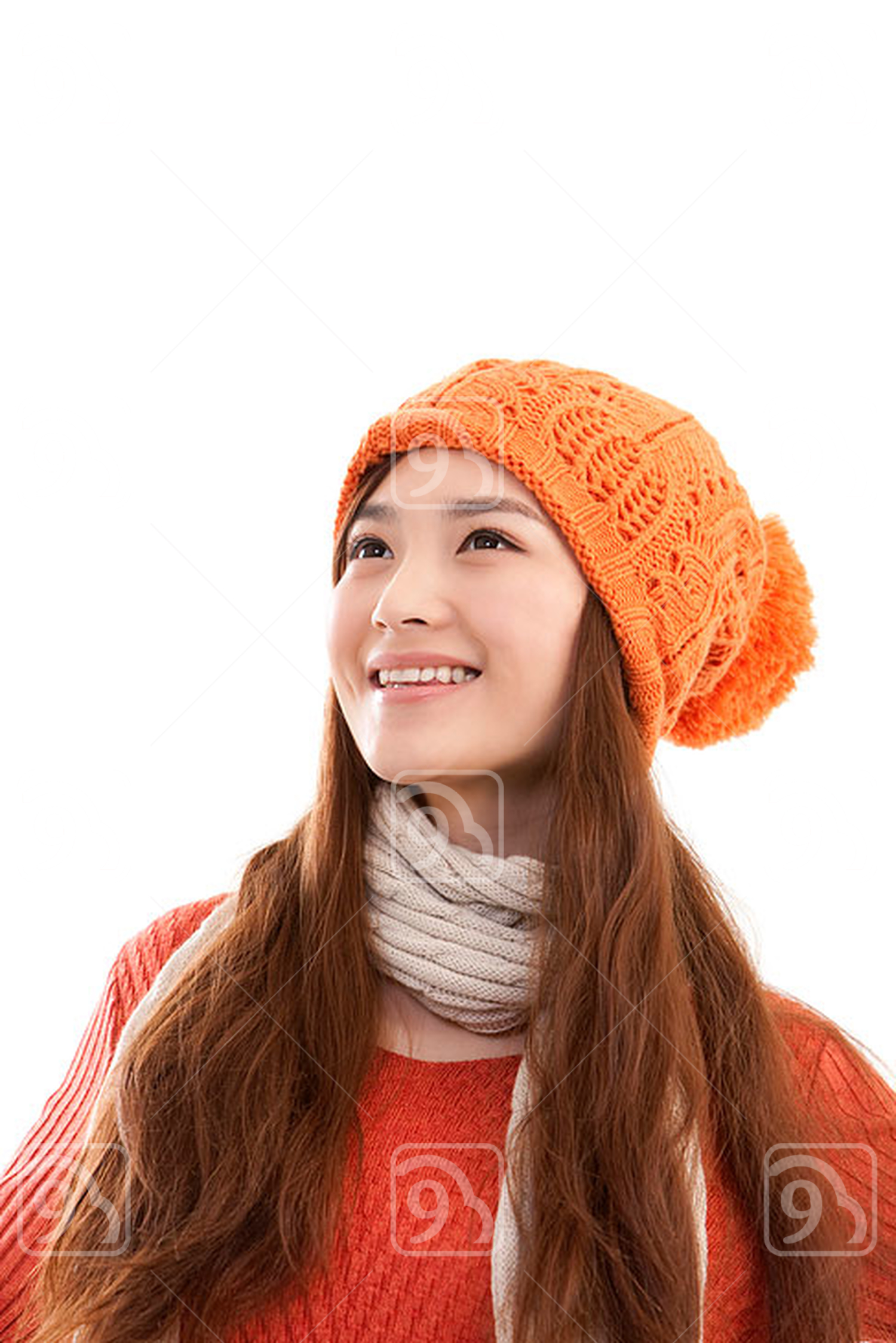 Portrait of young Chinese woman