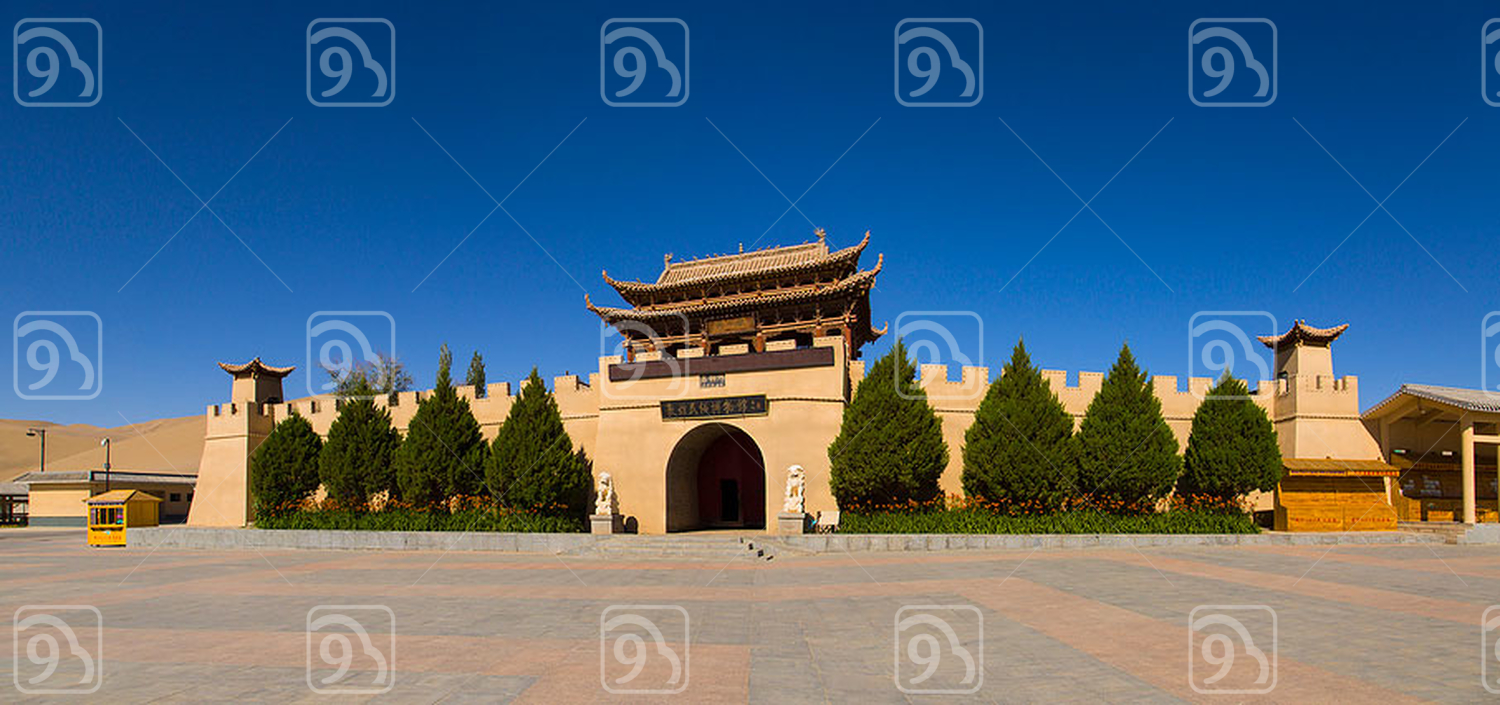 Museum in Dunhuang, China