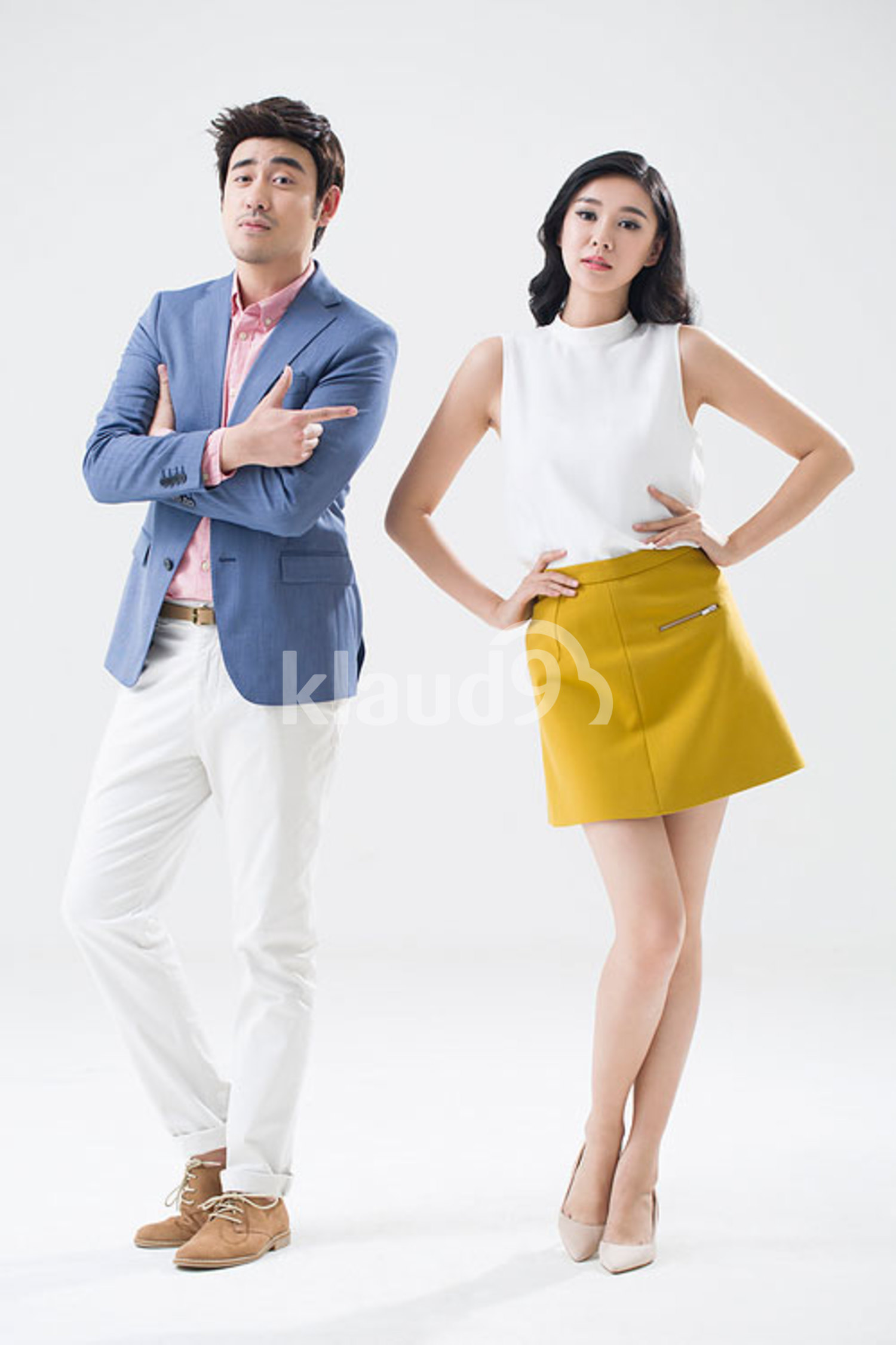 Fashionable young Chinese couple