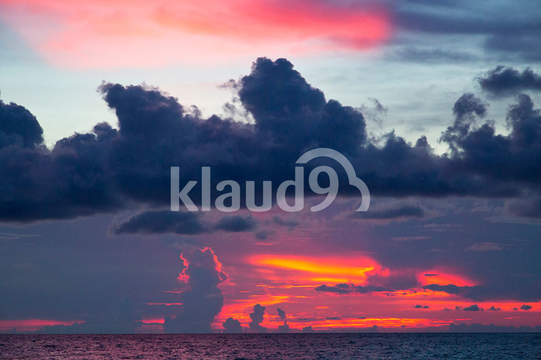 Sea in sunrise