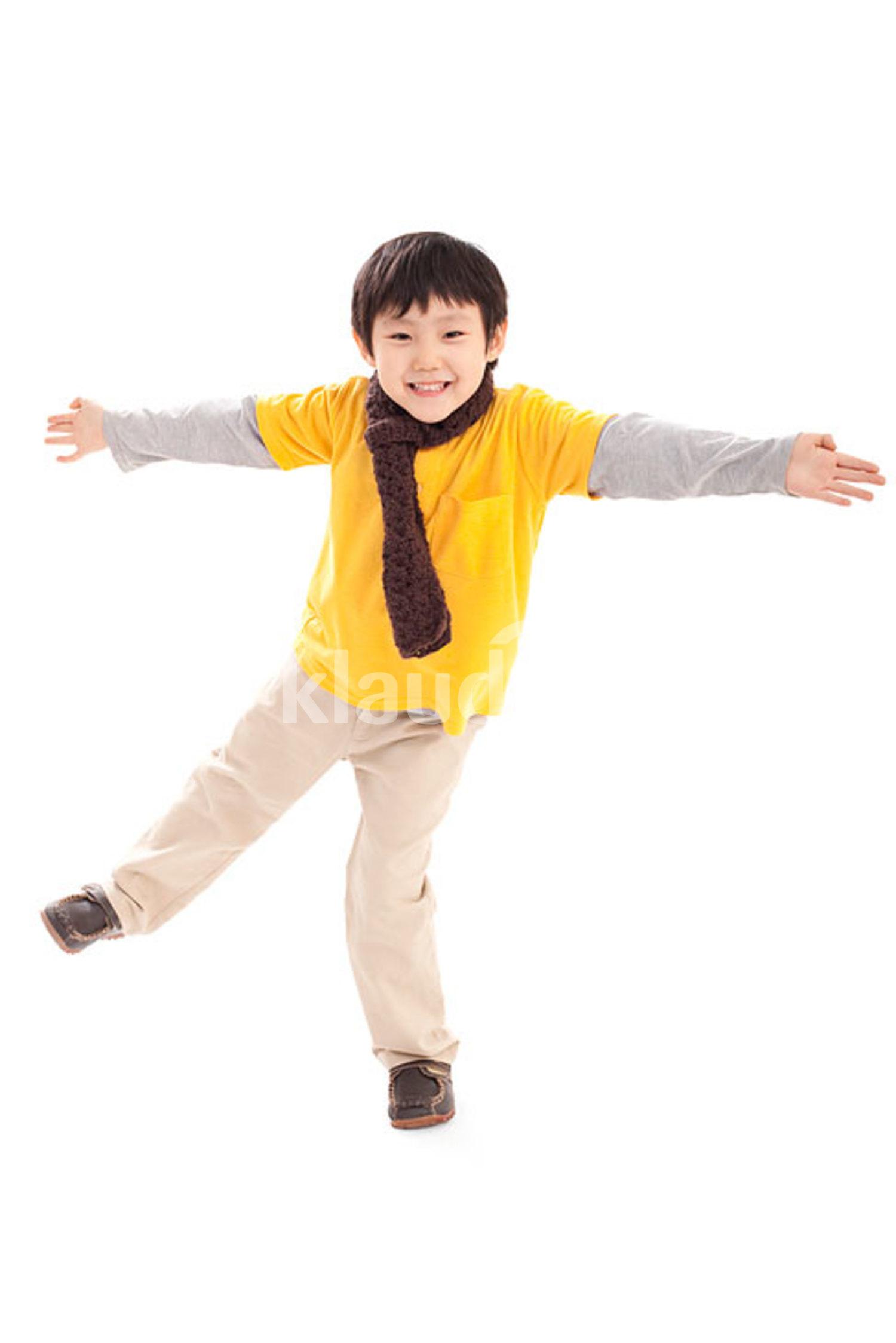 Cute Chinese boy
