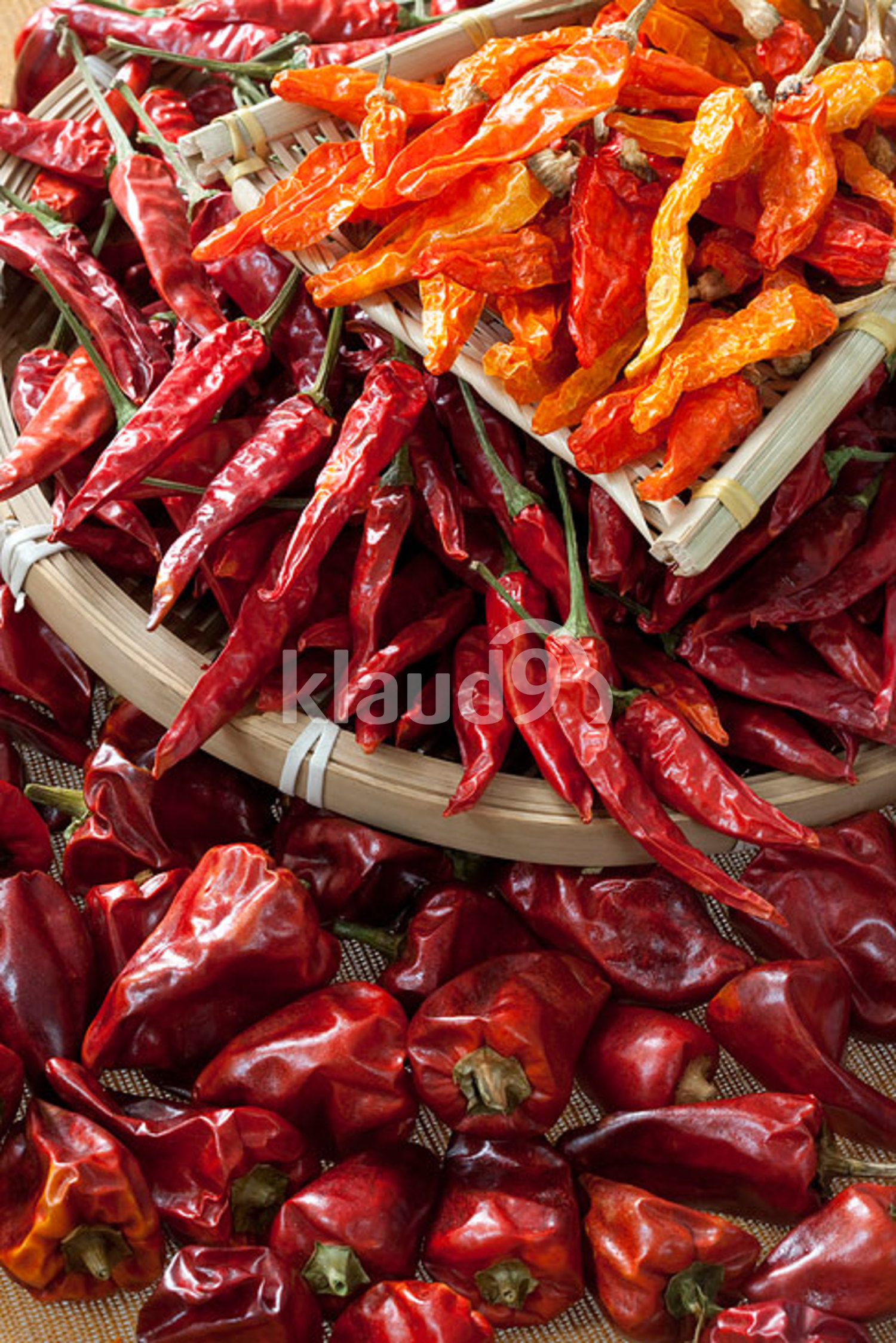 Close-up of dry Chili Pepper