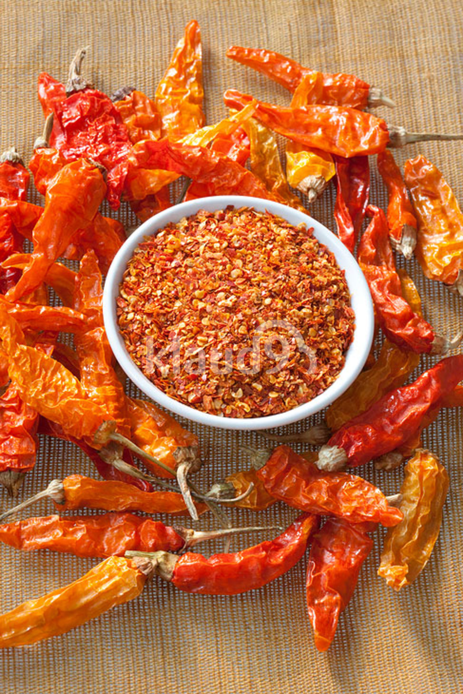 Dry Chili Pepper and red chilli powder