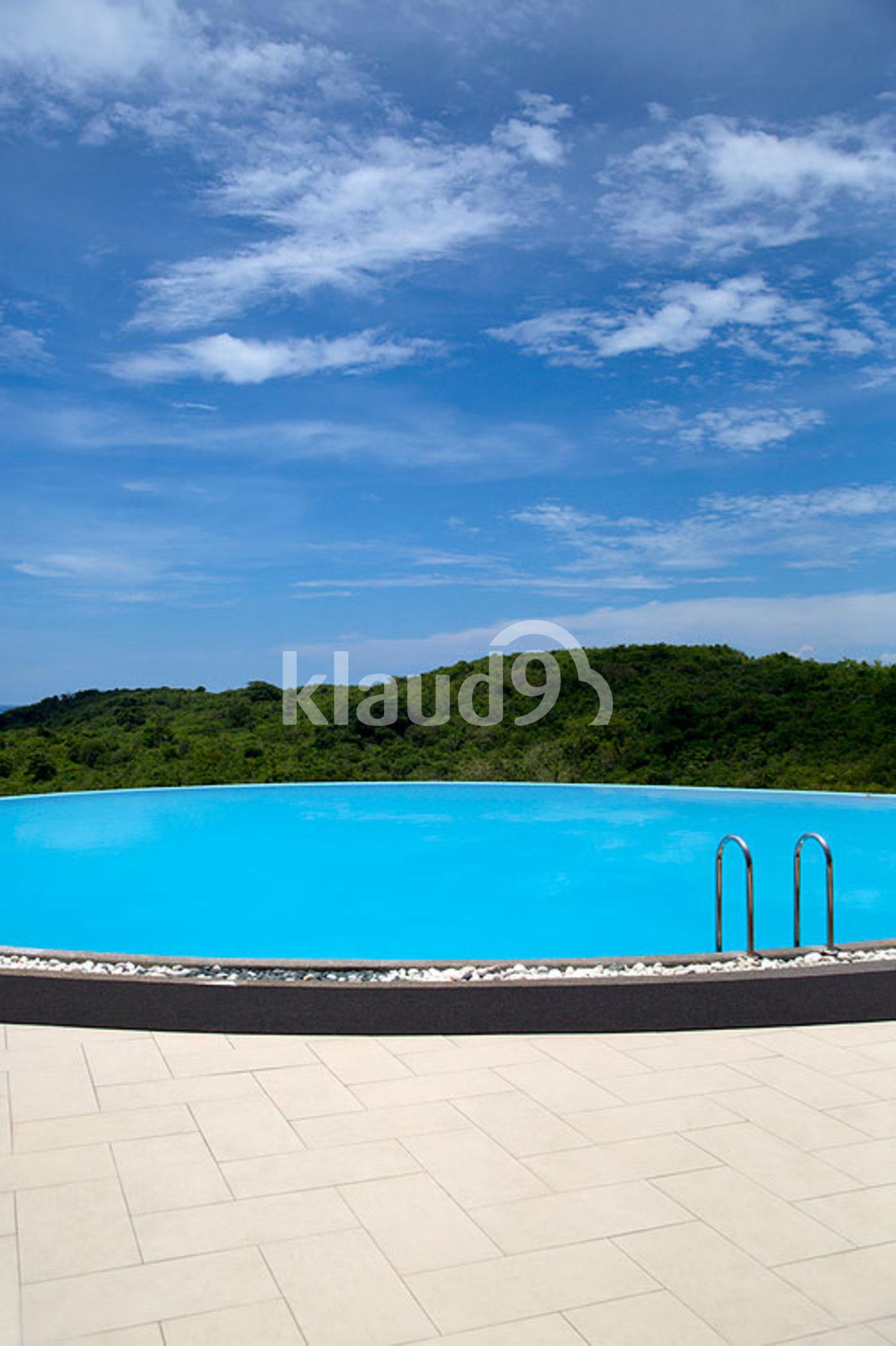 Swimming pool at luxury tropical resort