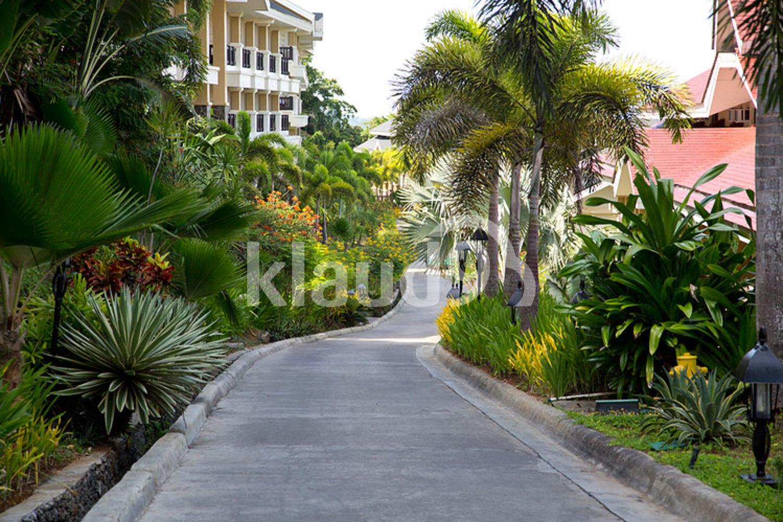 Holiday villas on Boracay island, Philippines