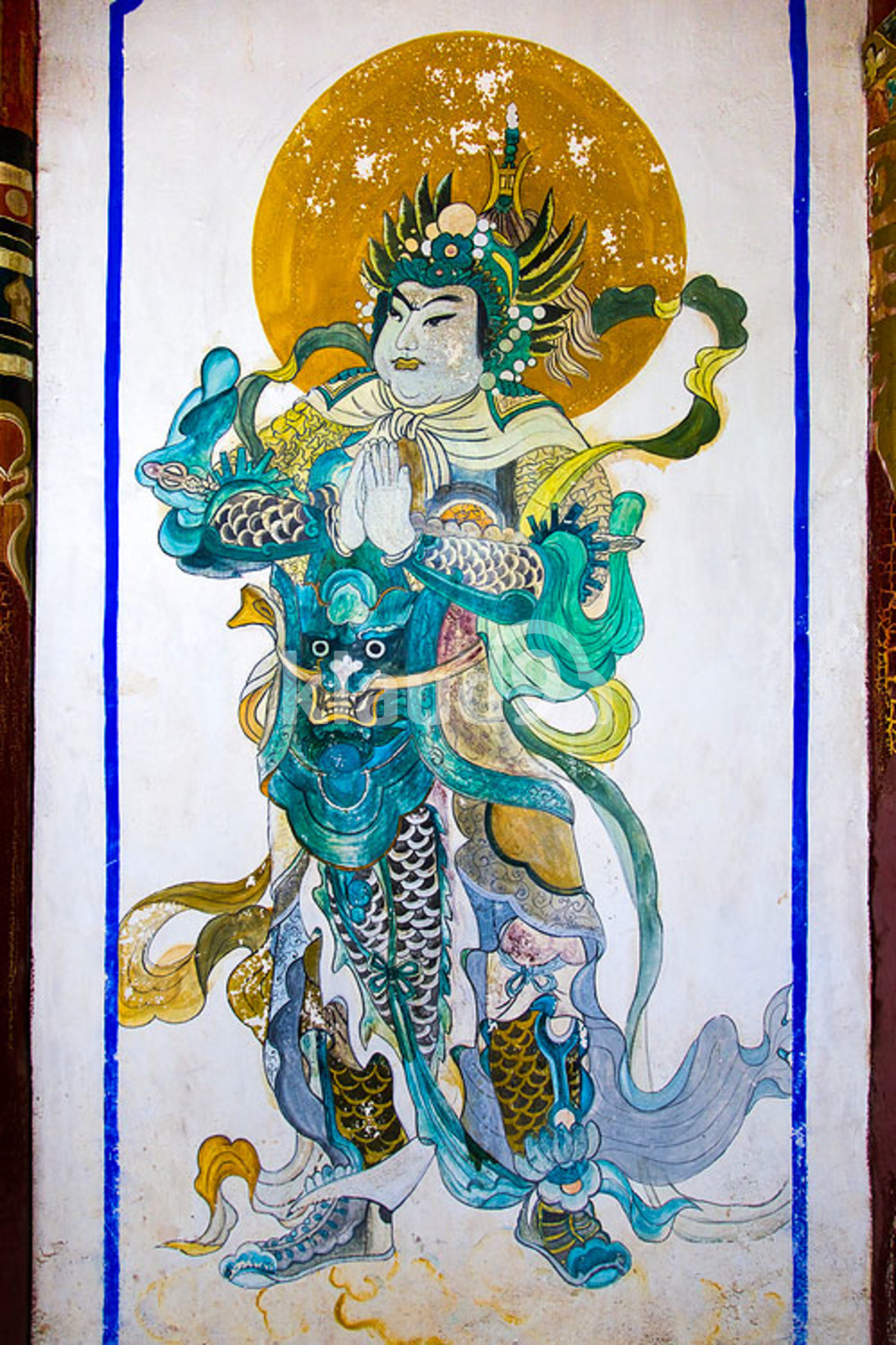 Ancient Chinese mural painting