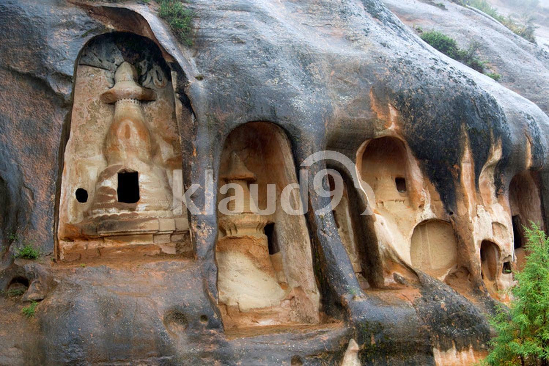 Mati Temple in Gansu province, China