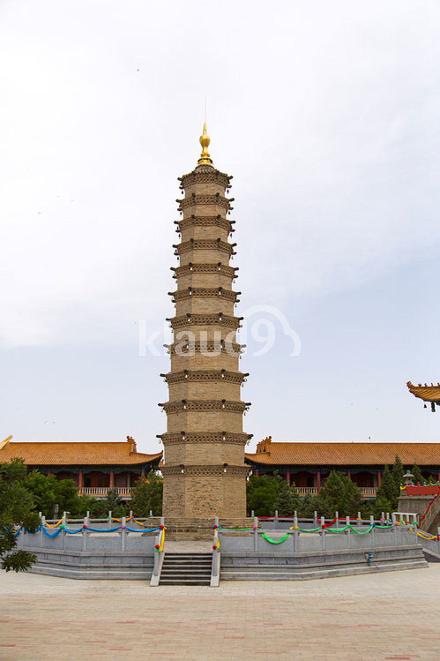 Luoshi Temple in Gansu province, China