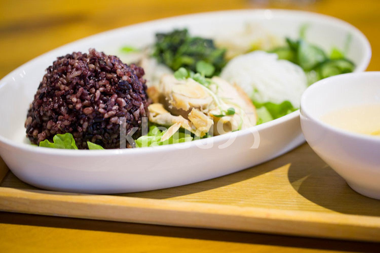 Delicious rice ball