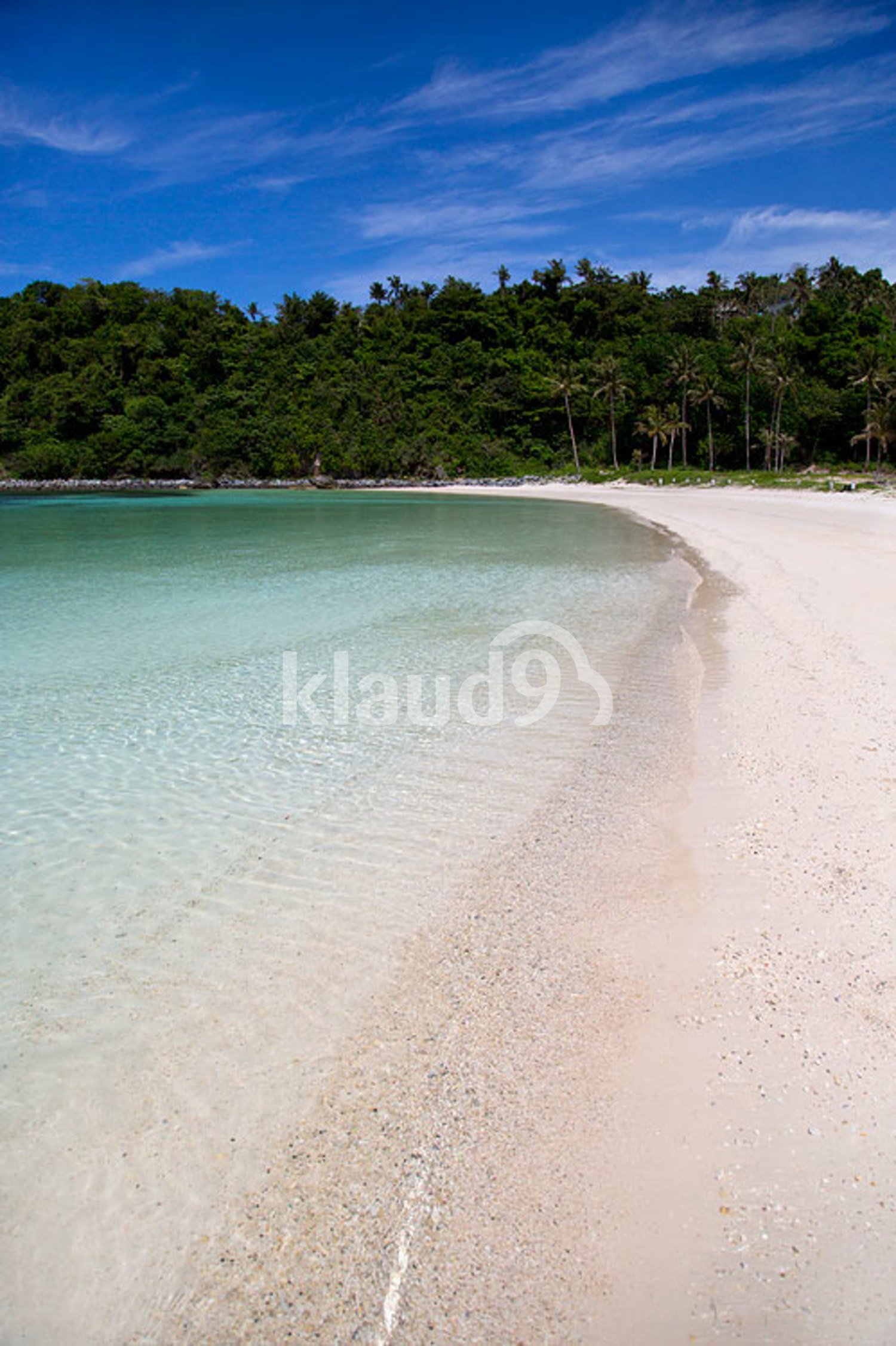 Beautiful beach in Philippines