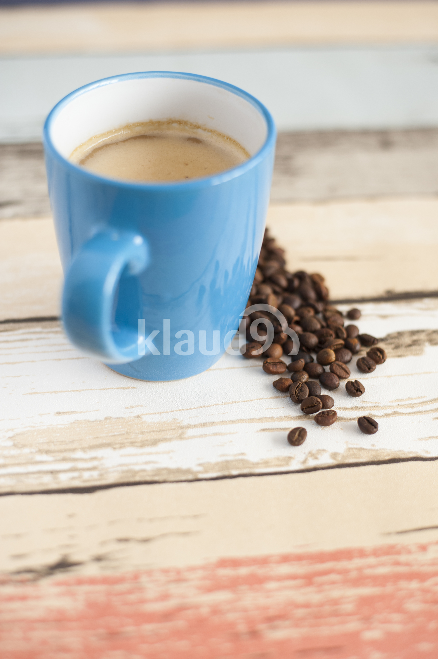 First cup of coffee in the morning