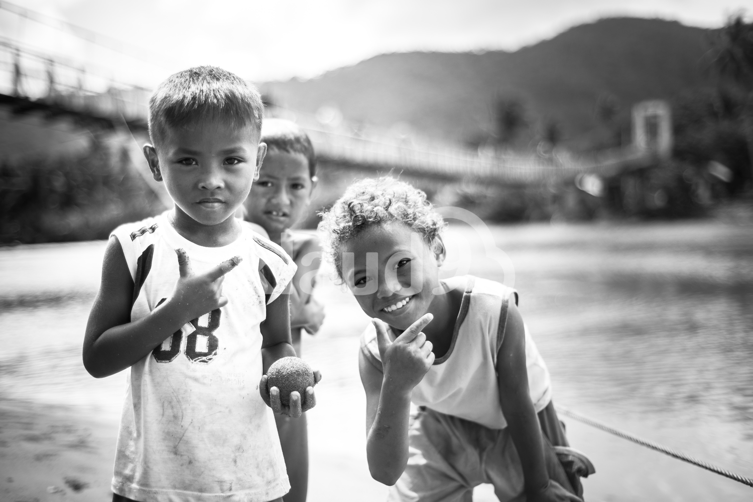 Children of Baler, Aurora, Philippines