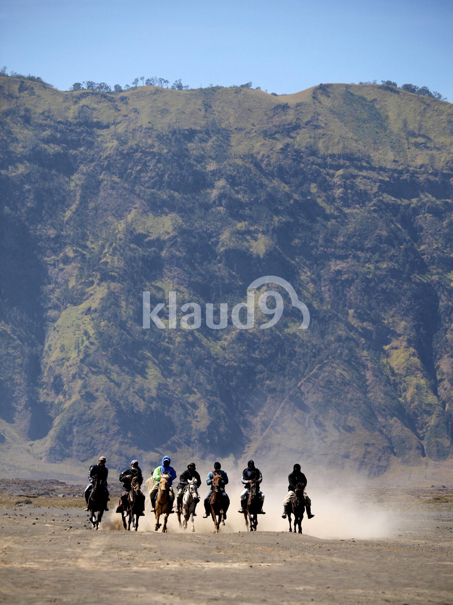 Horse Riders of Bromo
