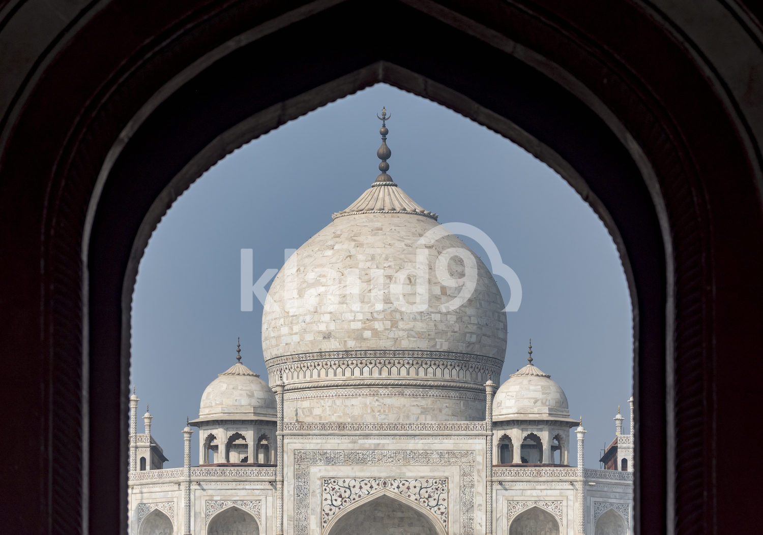 The beautiful Taj Mahal, India