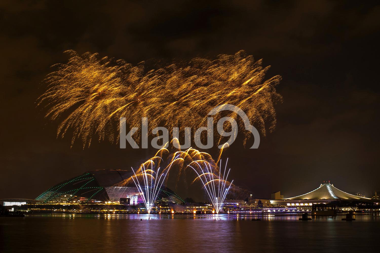 Fireworks at Singapore Sports Hub