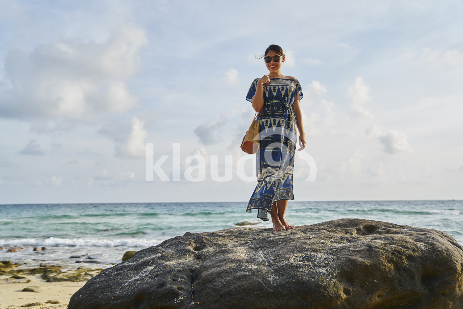 Young woman exploring the beach in Koh Kood, Thailand