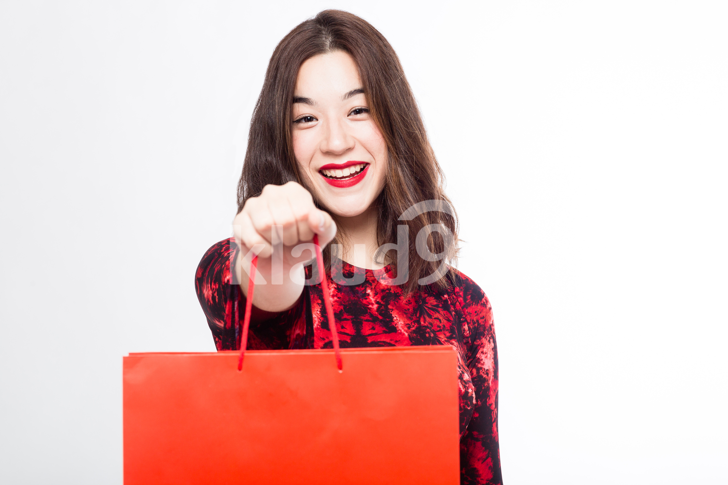 Eurasian Woman with her Gift