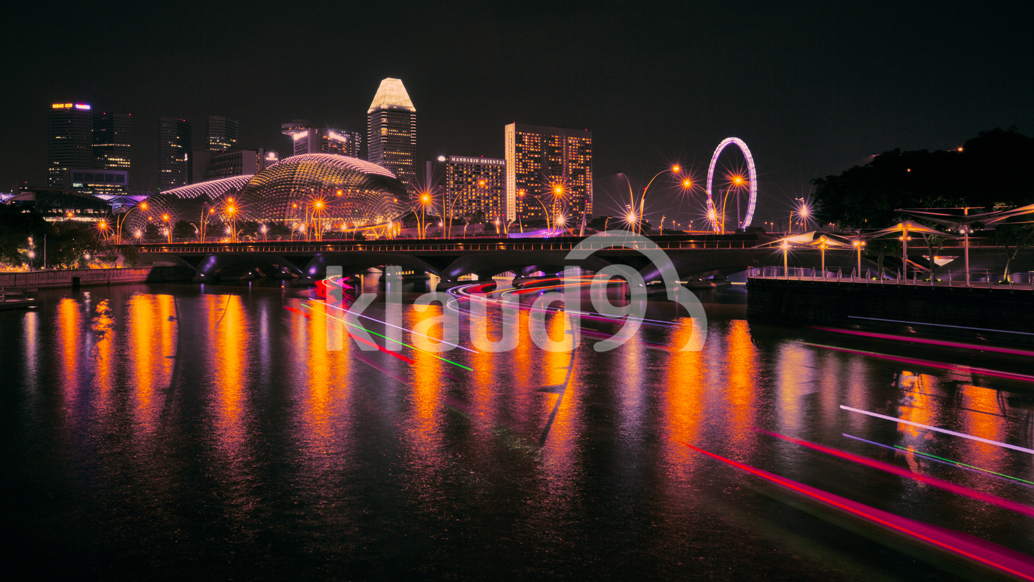 City Nightscapes of Singapore