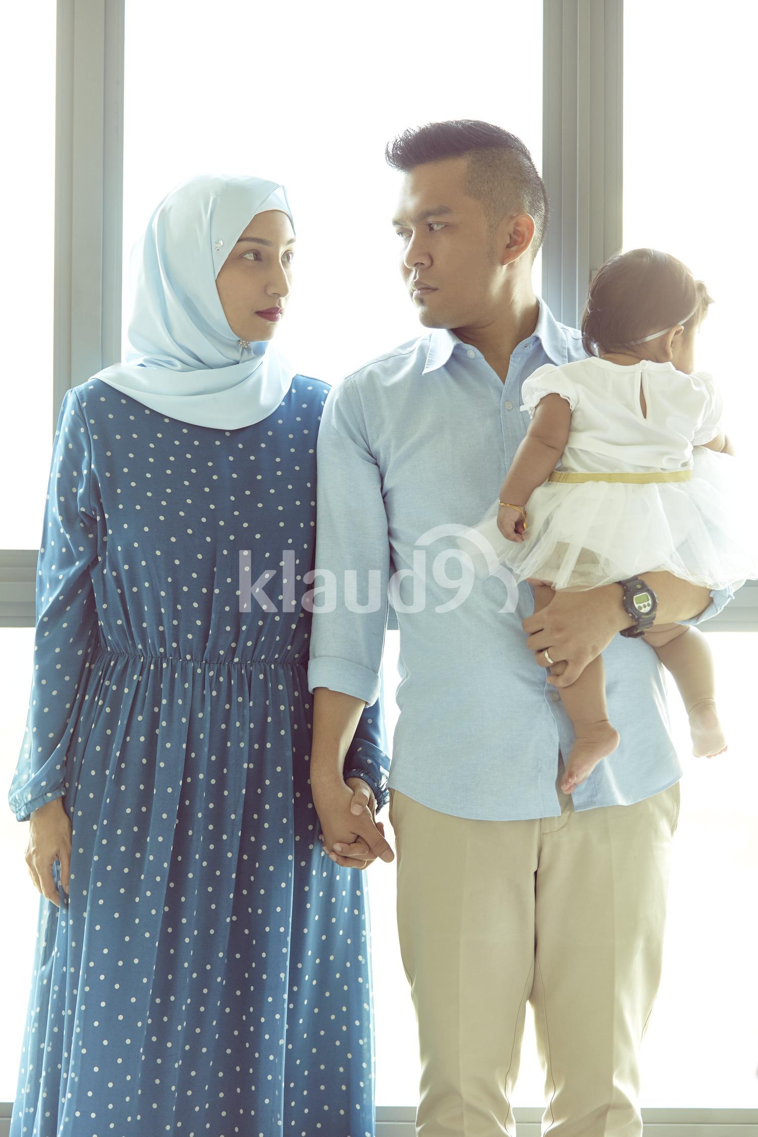Malay family potrait