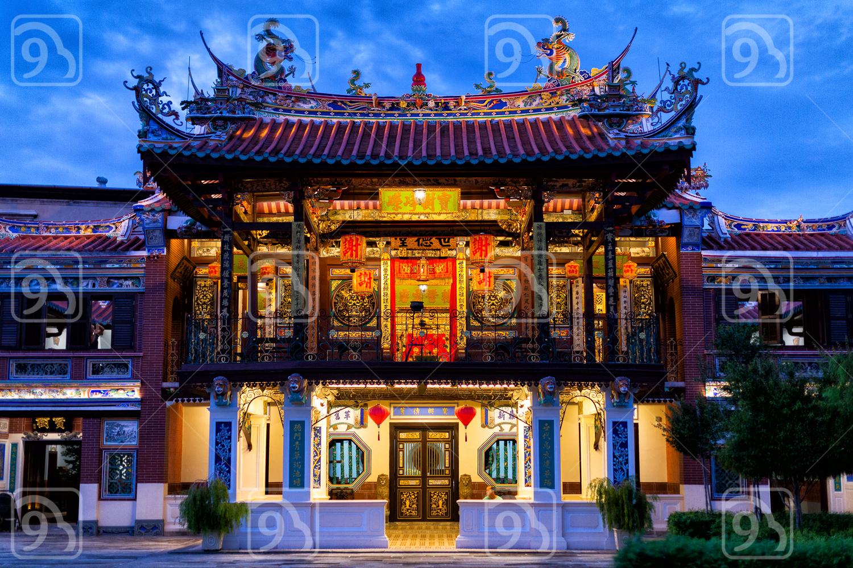 Seh Tek Tong Cheah Kongsi clan house in Georgetown, Penang