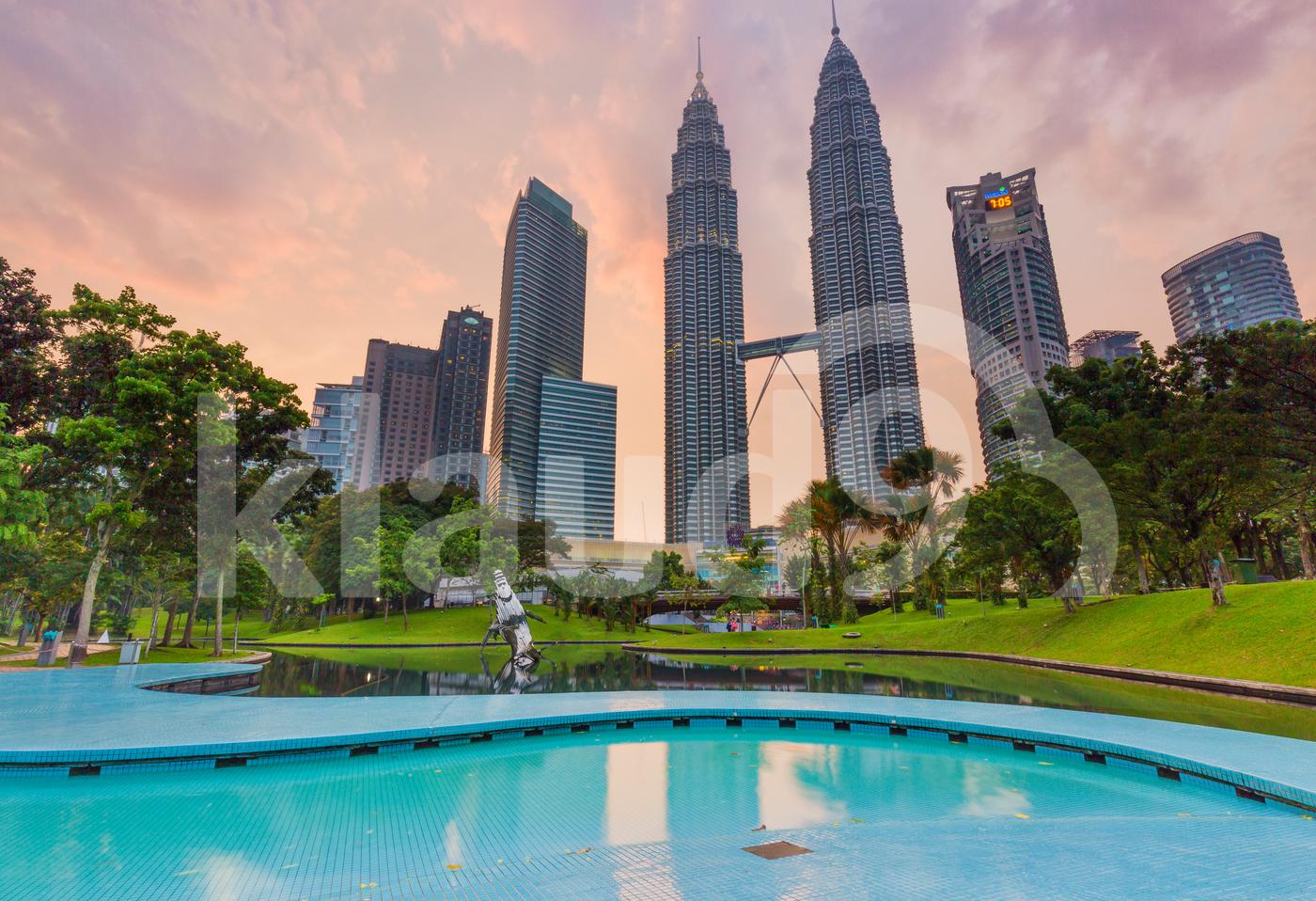 Petronas Tower at Dusk
