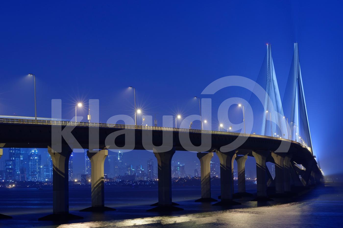 Bandra Worli Sea Link bridge, Mumbai, India