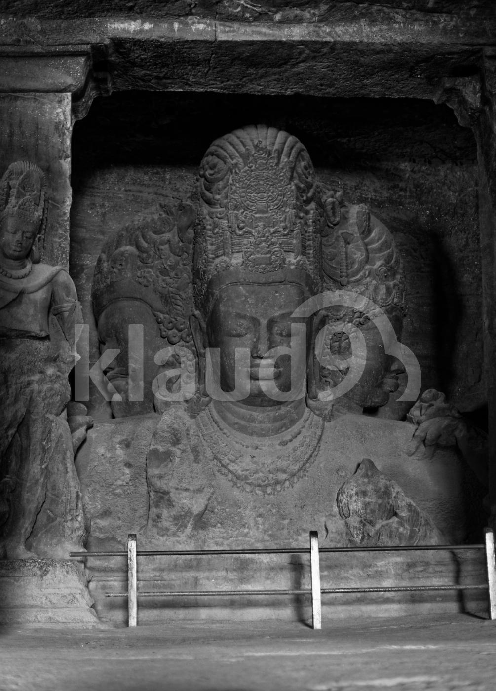 Elephanta Cave Mumbai, India.