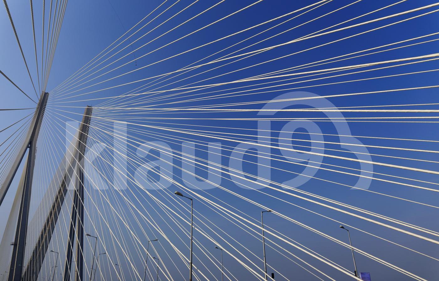 Bandra Worli Sea Link bridge, Mumbai, India.