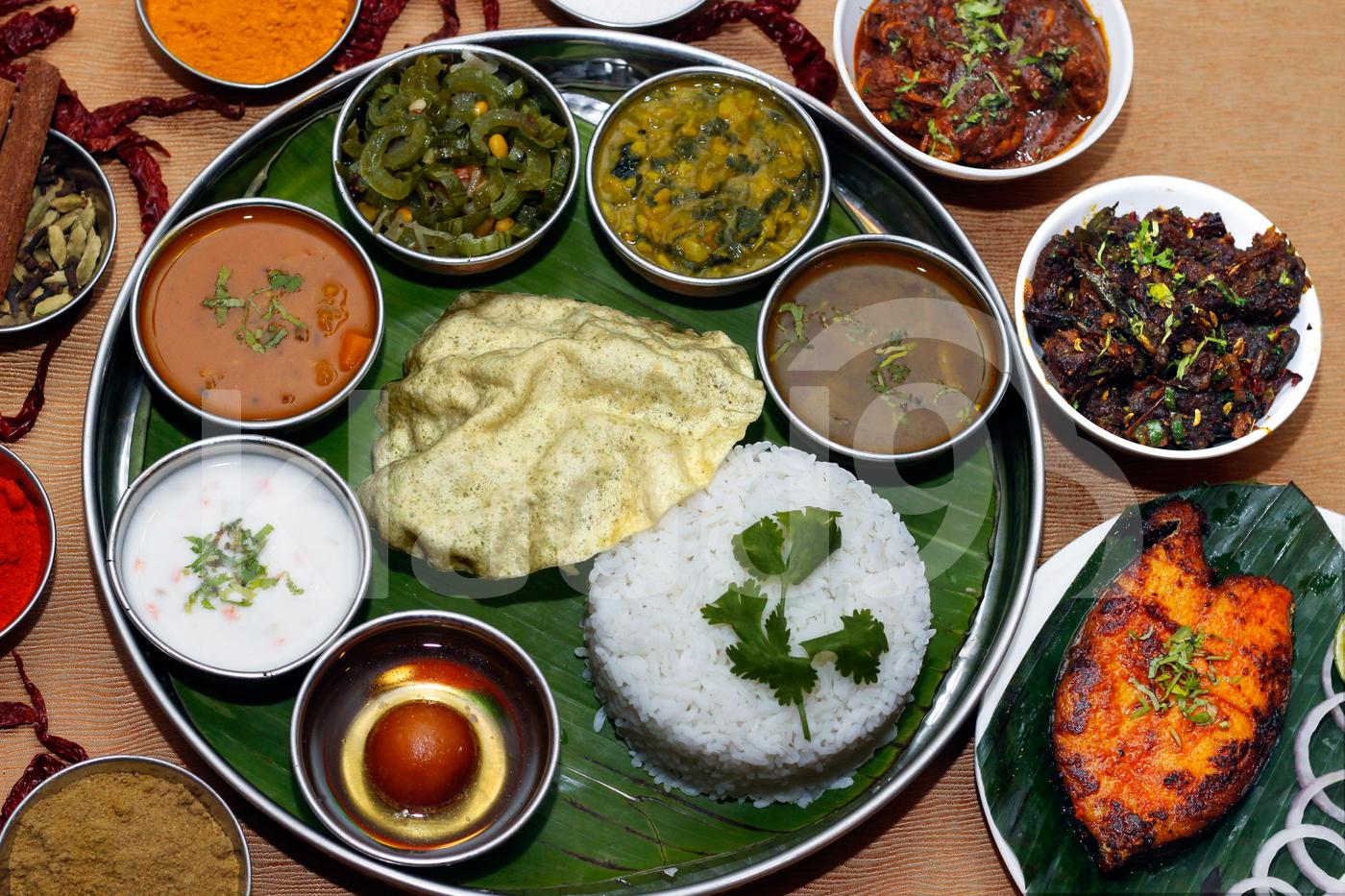 Banana leaf thali set