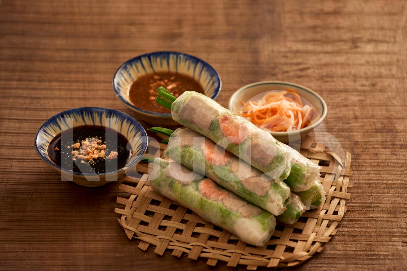 Fresh Spring Roll, Vietnamese Food