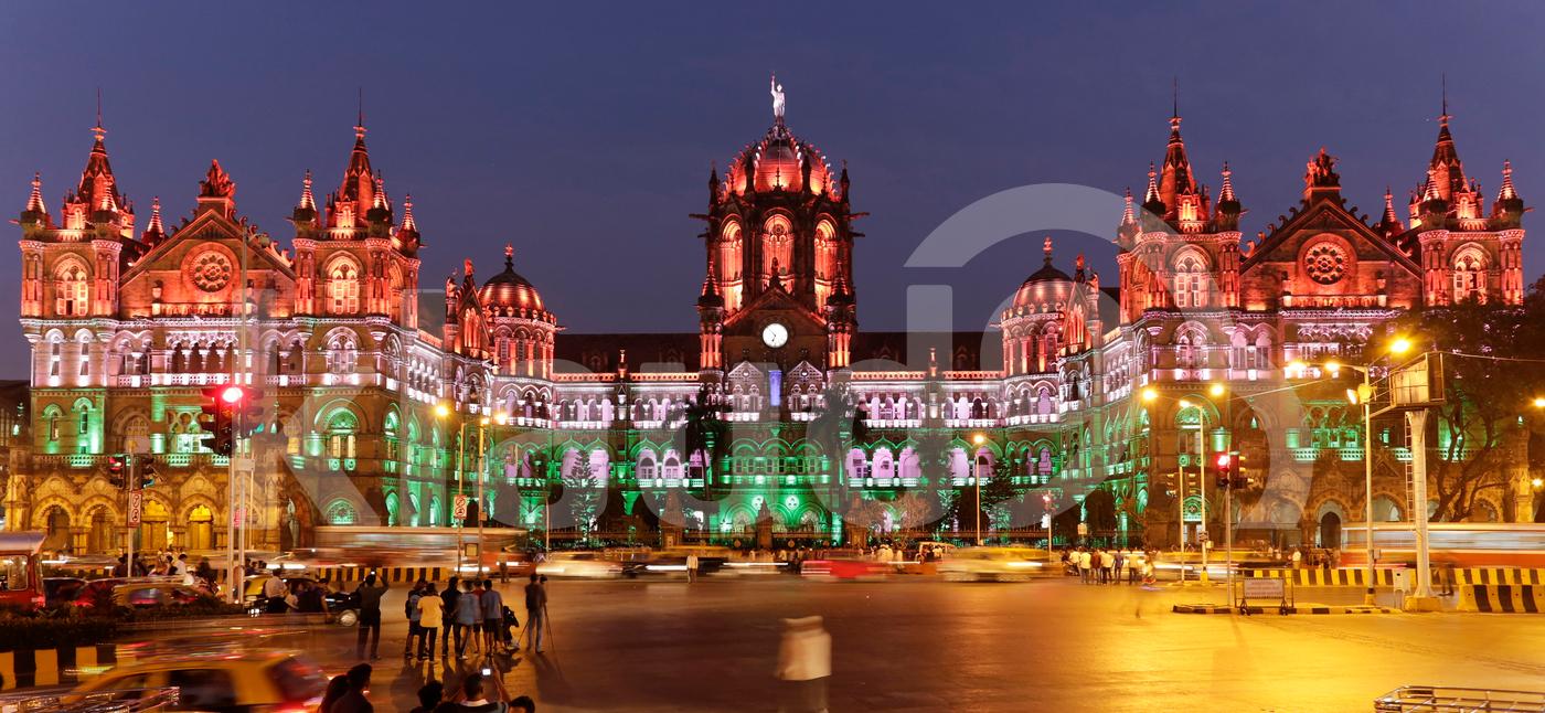 Chhatrapati Shivaji Terminus (CST) formerly Victoria Terminus in Mumbai
