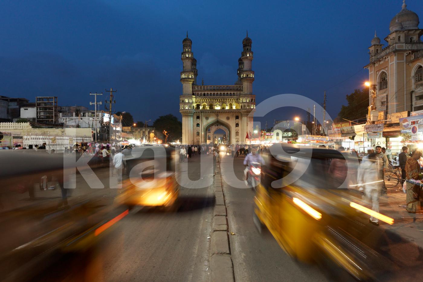 Charminar Hyderabad, India.