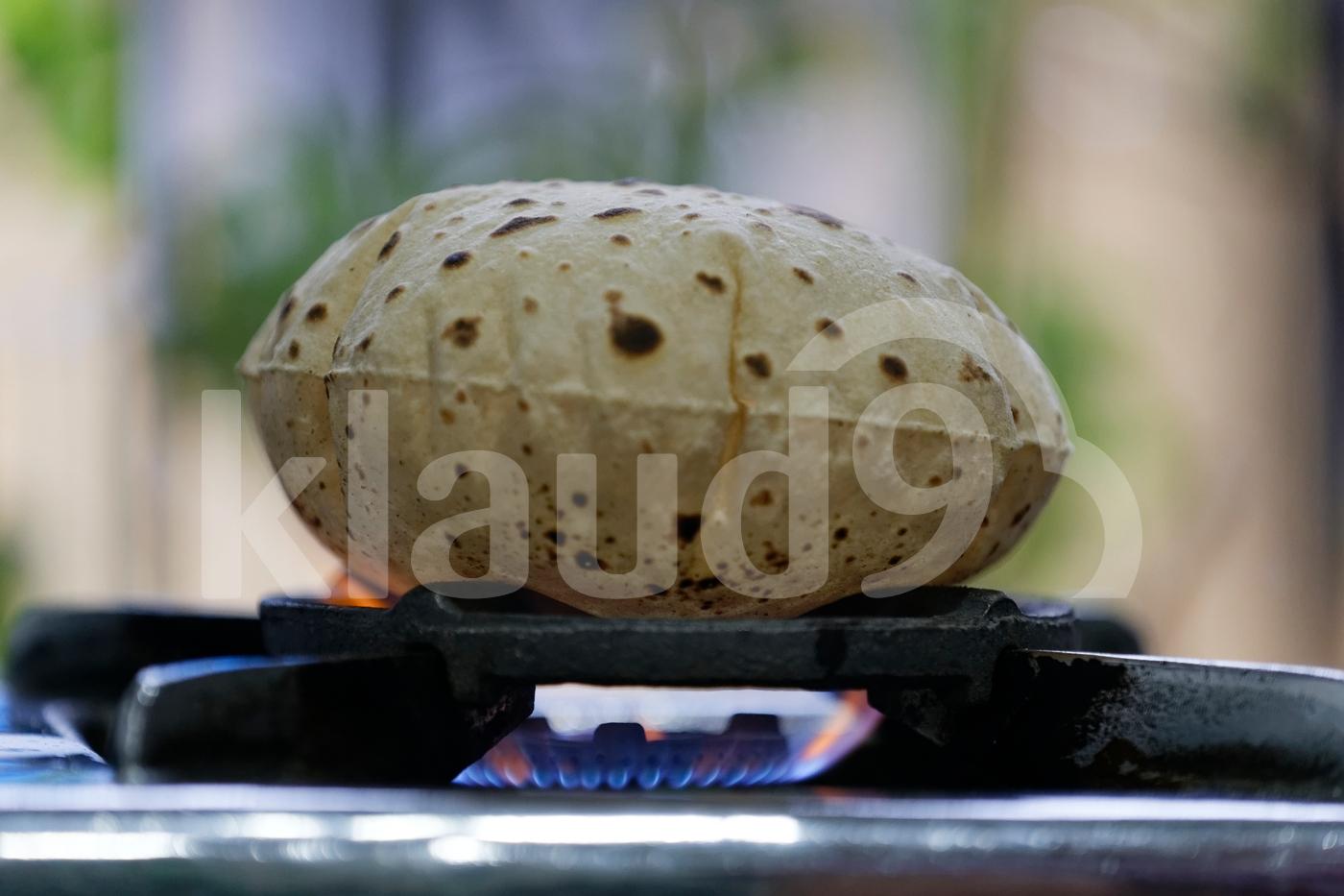 Indian Roti, Fulka.