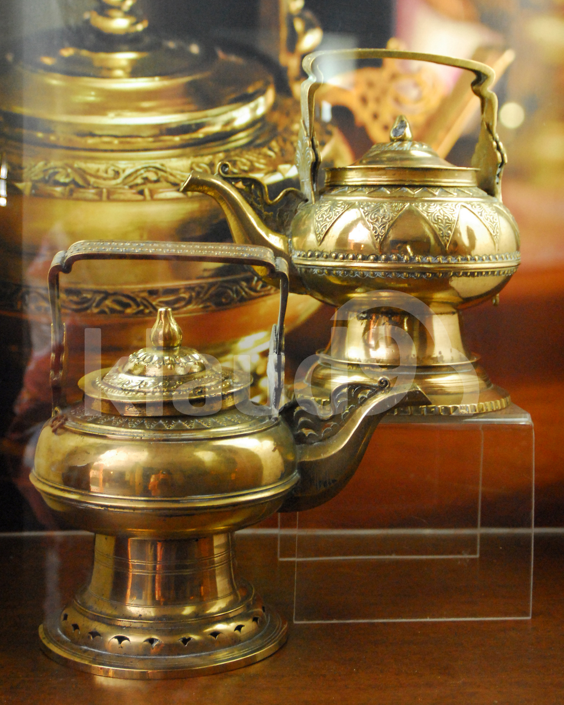 Keetle made of brassware