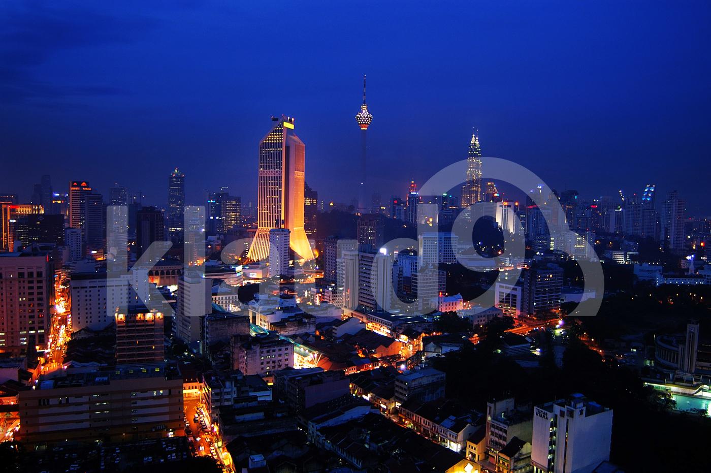 Kuala Lumpur City Centre, Malaysia.