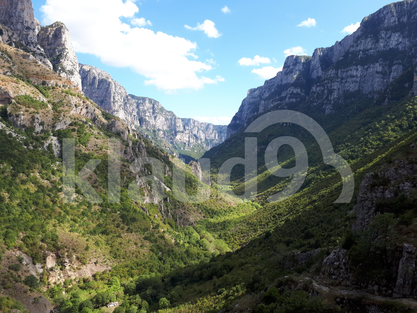 Vikos valley, Greece