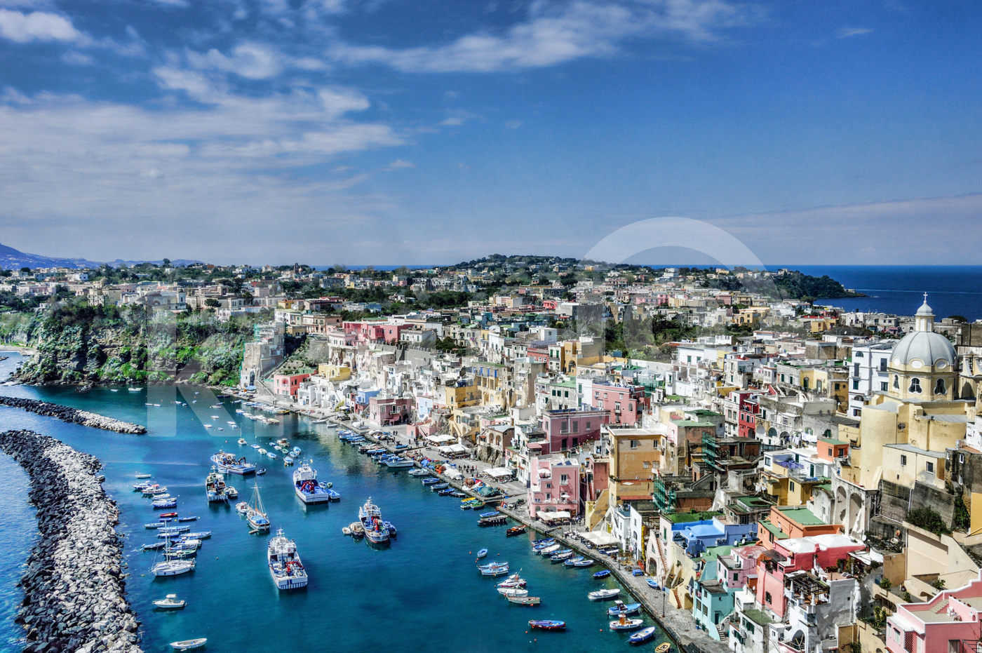 The beauty of Procida Island